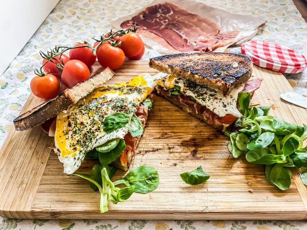 Frühstück Sandwich